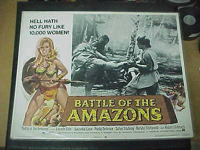 BATTLE OF THE AMAZONS, nr mint orig LCS [Lucretia Love, Lincoln Tate]