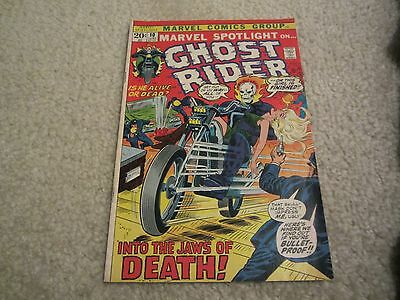 Marvel Spotlight #10: Early Ghost Rider See The Pics