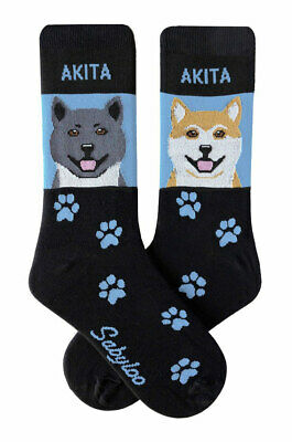 Akita Socks Lightweight Cotton Crew Stretch Egyptian Made