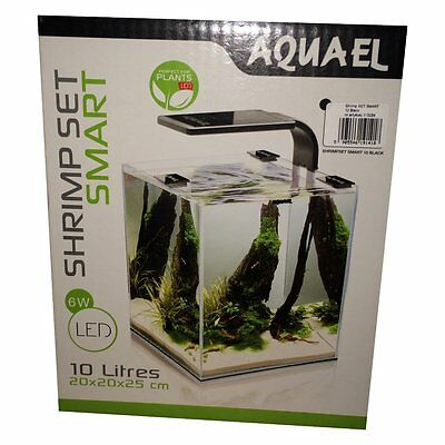 Aquael Aquarien Shrimp Set 10L Garnelen Aquarium Fische