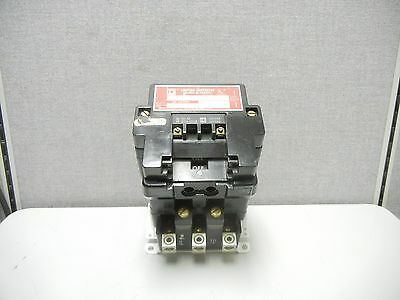 Square D 8903 Sq02 Series A Used Lighting Contactor 100A 600V 3 Pole 8903Sq02