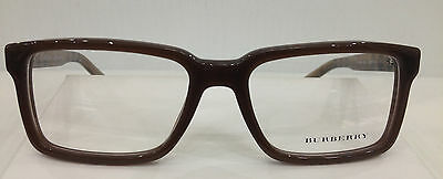 NEW AUTHENTIC BURBERRY B 2090 COL 3237 BROWN PLASTIC EYEGLASSES FRAME B 2090