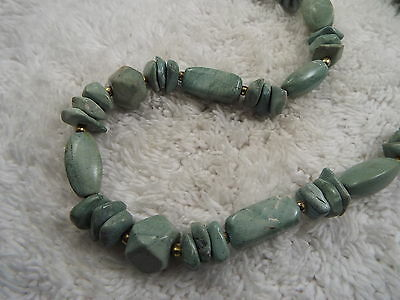 Green Stone Necklace (C79)