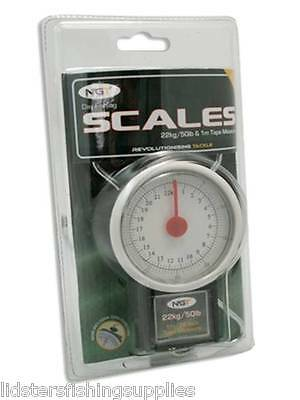 New Carp Fishing 50Lb / 22Kg Day Fishing Scales Ngt
