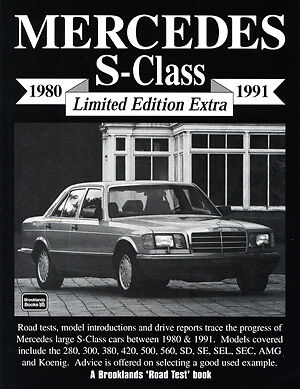 Mercedes S Class 1980-1991 Reviews Road Tests Buyer's Guide Portfolio MB80X2 NEW