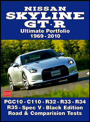Nissan Skyline GT-R Buyer's Guide Reviews & Road Tests Portfolio NGTRUP NEW