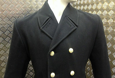 Genuine British Royal Navy RN Ratings Full Length Greatcoat / Overcoat All Sizes