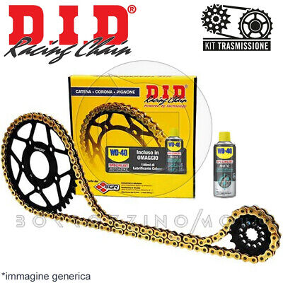 KIT TRASMISSIONE DID CATENA CORONA PIGNONE DUCATI 696 Monster-ABS 2008 2014