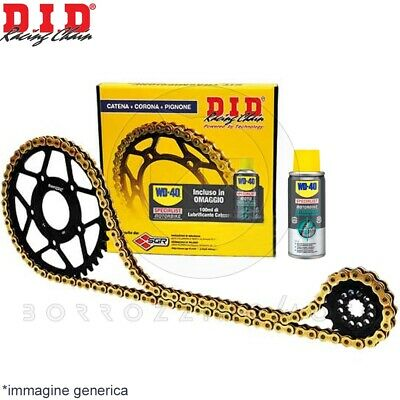 Kit Trasmissione Did Professional Catena Corona Pignone Bmw F 800 R 2009 2010
