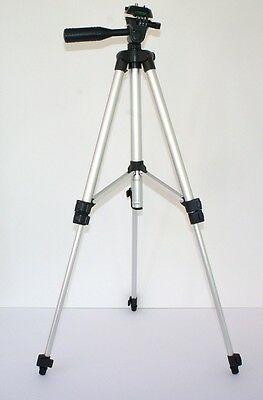 """50"""" Pro Photo/Video Tripod With Case for Nikon Coolpix S9100 S6100"""