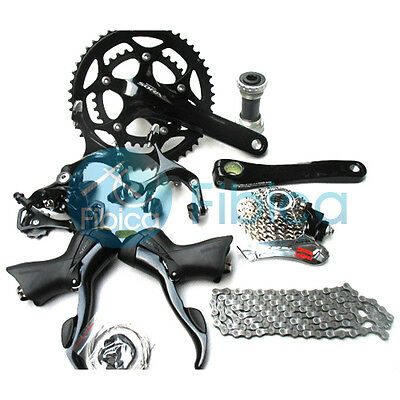 New Shimano Sora Road 3500 2x9-speed Bike Complete Groupset Group Gruppos