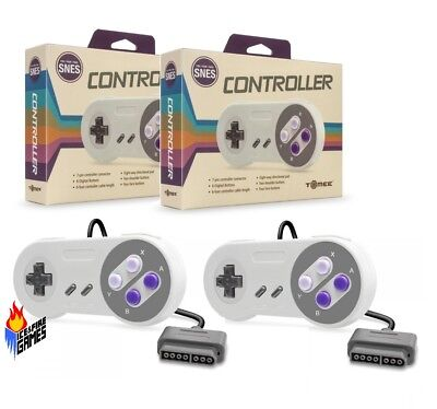 Lot of 2 SNES Super Nintendo Controllers - New In Box