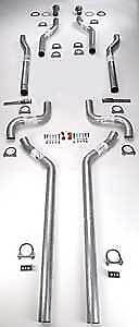 "JEGS Performance Products 30503 Header-Back Dual 2-1/2"" Exhaust Kit B-Body"