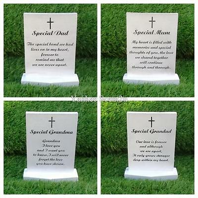 Funeral Graveside Grave Memorial Plaque Stand VARIETY