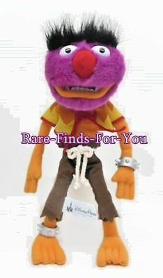 """Disney Theme Parks The Muppets Wild Drummer """"Animal"""" Plush Doll Toy 12'' H (NEW)"""