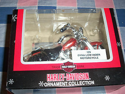 Harley-Davidson Cavanagh Ornament  129 Dyna Low Rider Motorcycle