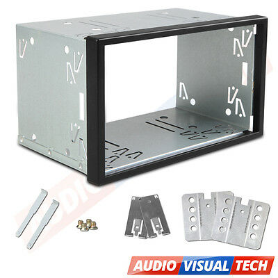 UNIVERSAL Double DIN Stereo Headunit FITTING CAGE KIT Mounting