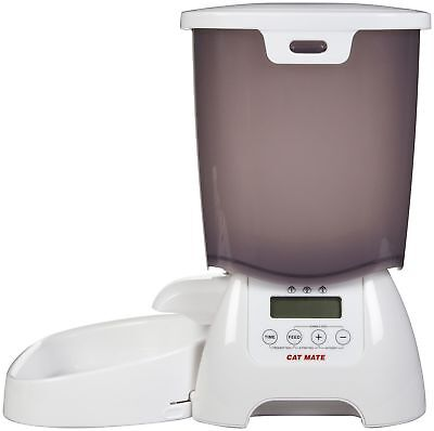 Cat Mate C3000 Automatic Dry Food Pet Digital Auto Feeder Kitten Bowl Dish 347