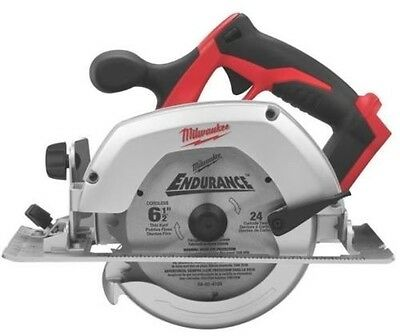 """New Milwaukee 2630-20 M18 18 Volt Cordless 6 1/2"""" Circular Saw With Blade Sale"""