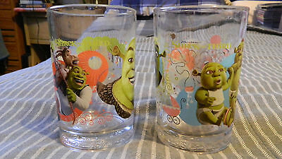 Sherk the Third McDonalds Collector Glass (Mike Myers, Eddie Murphy,Cameron Diaz