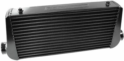"AEROFLOW UNIVERSAL ALLOY INTERCOOLER 3"" IN/OUT 600 x 300 x 76 BLACK AF90-1000BLK"