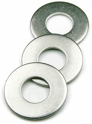 Stainless Steel Flat Washer Series 815, 3/8 ID x 1.00 OD, Qty 25
