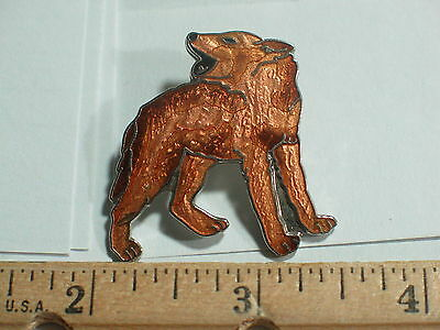 Coyote Pin ? or  Wolf Howling Pin (Rare) (lg)