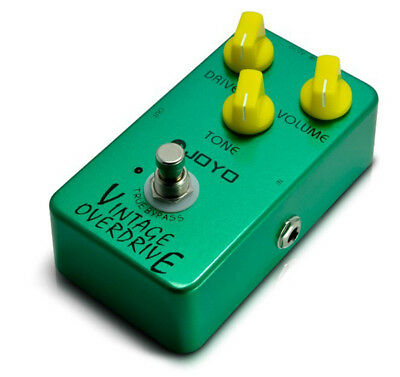 Joyo JF01 Guitar Effects Pedal - Vintage Overdrive - New