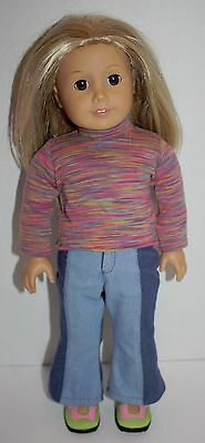 """Rare American Girl Kailey 18"""" Doll - Sold Out Girl of the Year 2003"""