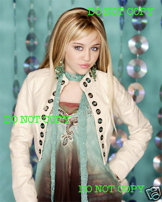 MILEY CYRUS - 8x10 Photo - BEAUTIFUL