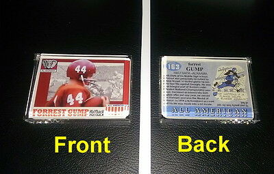 Forrest Gump Alabama Crimson Tide Football Card prop Display Piece Paperweight