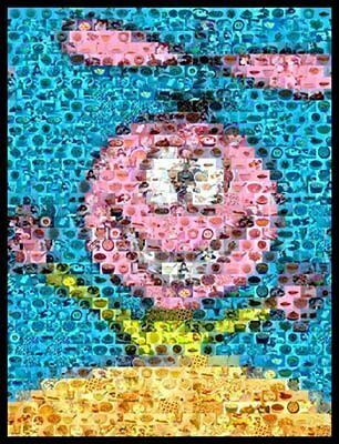 Amazing Quisp Cereal Pop Art Montage Only 25 made