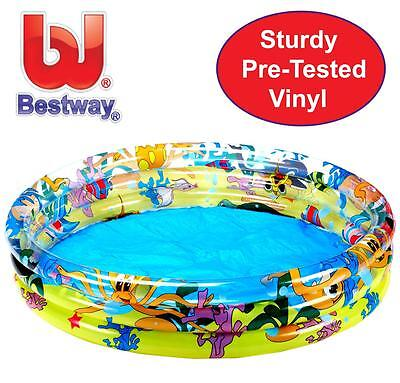 Bestway Childrens Kids Inflatable Paddling Swimming Garden Play Pool 4'Foot 4FT