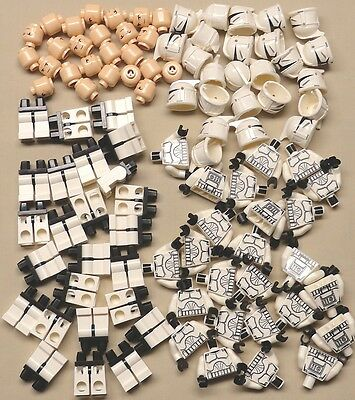 x25 Lego CLONE TROOPER Minifigs BRAND NEW STAR WARS GUYS 10195 7675 7679 7681
