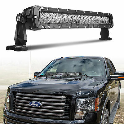Emergency Search and Rescue Professional Grade 20in LED Light Bar 100W 8,560LM
