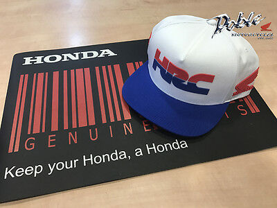 Brand New 2017 Genuine Honda Racing HRC FOX Merchandise Baseball Peak Cap / Hat