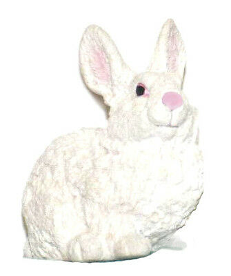 AAA 55021W White Easter Bunny Rabbit Toy Model Figurine Replica - NIP
