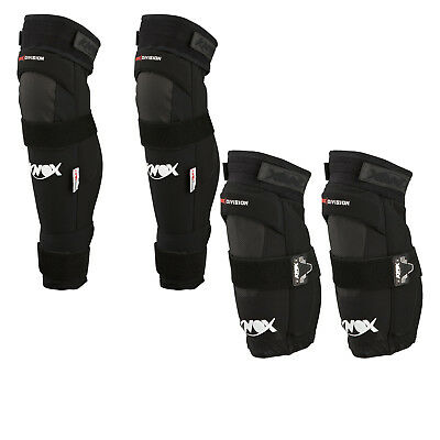 Knox Defender Motorcycle Knee Protectors CE Approved MX Motocross Pads Armour
