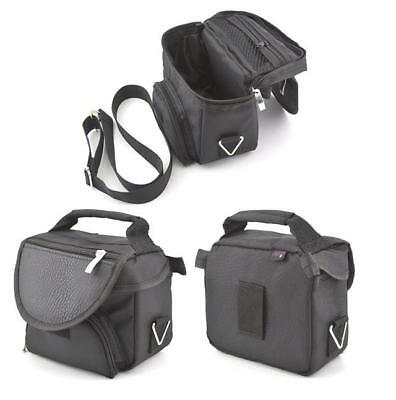 Black Carry Case Travel Bag For Sony PS Vita PCH-2000 & PS VITA TV Console