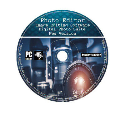 Image Editing Software Digital Photo Suite Latest Updated 2019 Version PC MAC CD