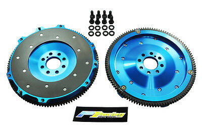 Fx 6061 Forged Aluminum Clutch Flywheel 2000-2005 Mitsubishi Eclipse Gt Gts 3.0L