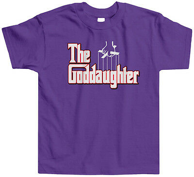 The Goddaughter Toddler T-Shirt Tee Godfather Godmother Funny Clever Spoof