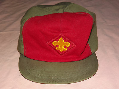 Vintage Boy Scouts Of America Cap Hat Size Small-Medium
