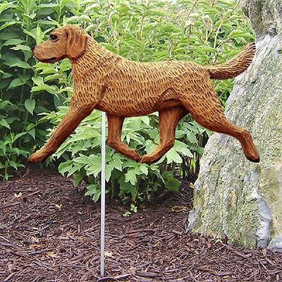 Chesapeake Bay Retriever Outdoor Garden Dog Sign Hand Painted Figure