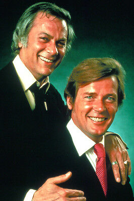 The Persuaders! Tony Curtis Roger Moore 24X36 Color Poster Print