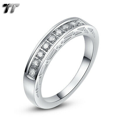 TT 4mm Stainless Steel Wedding Band Ring (R311S)