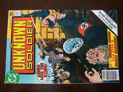 Unknown Soldier #207 VG Can Stop A Deadly Assassin