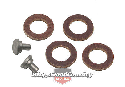 Holden 1/4 Vent Window Pivot Rivet + Washer set x2 EH HD HR HK HT HG Quarter