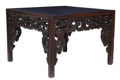 18TH CENTURY QING DYNASTY HARDWOOD FREE STANDING TABLE