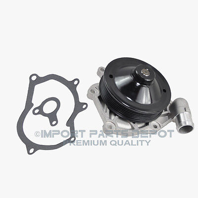 Engine Water Pump (Metal Impeller) + Pulley Porsche 911 Boxster 1997-2005 New